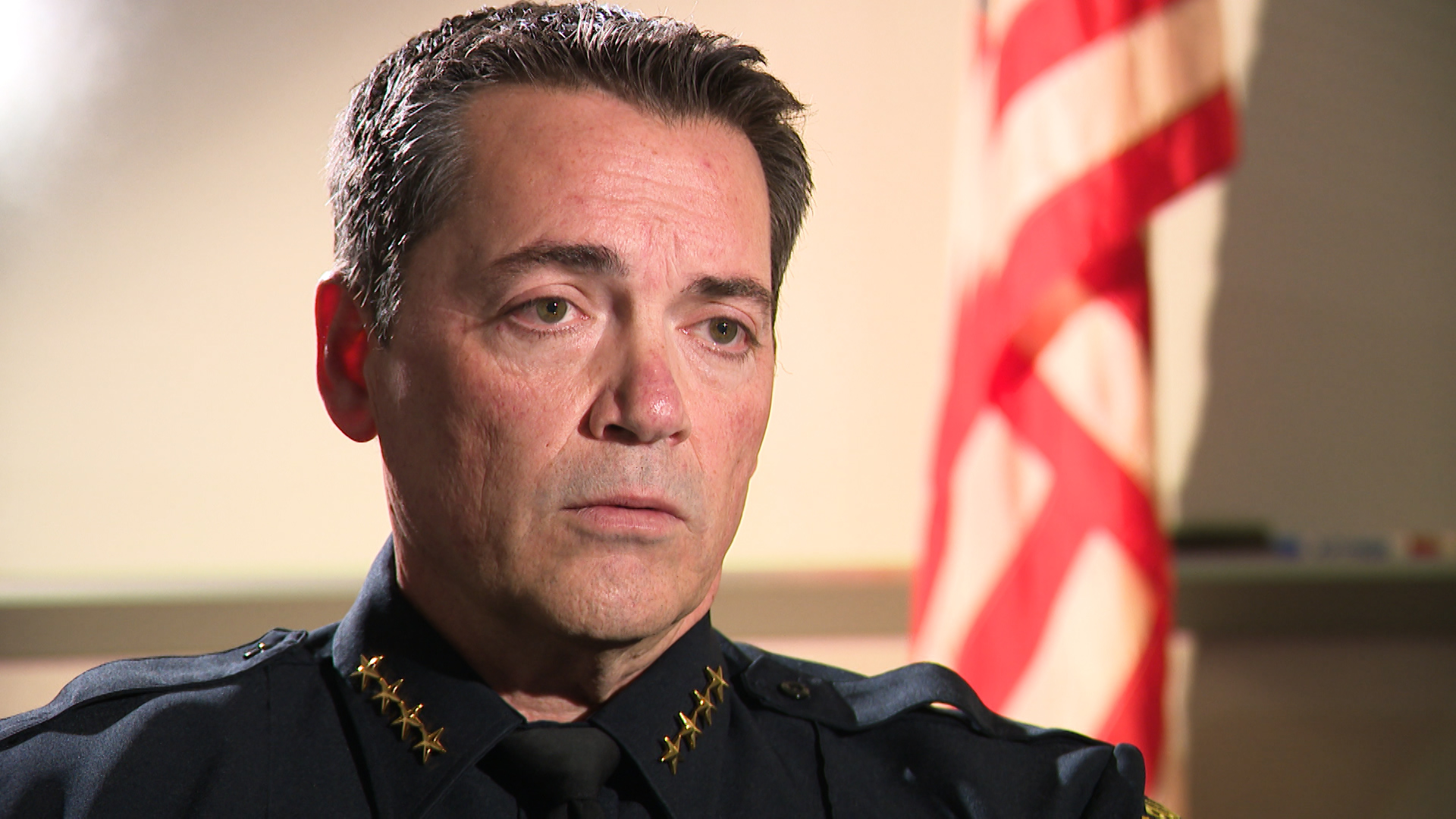 Fall River Police Chief Albert Dupere in an interview with Target 12.