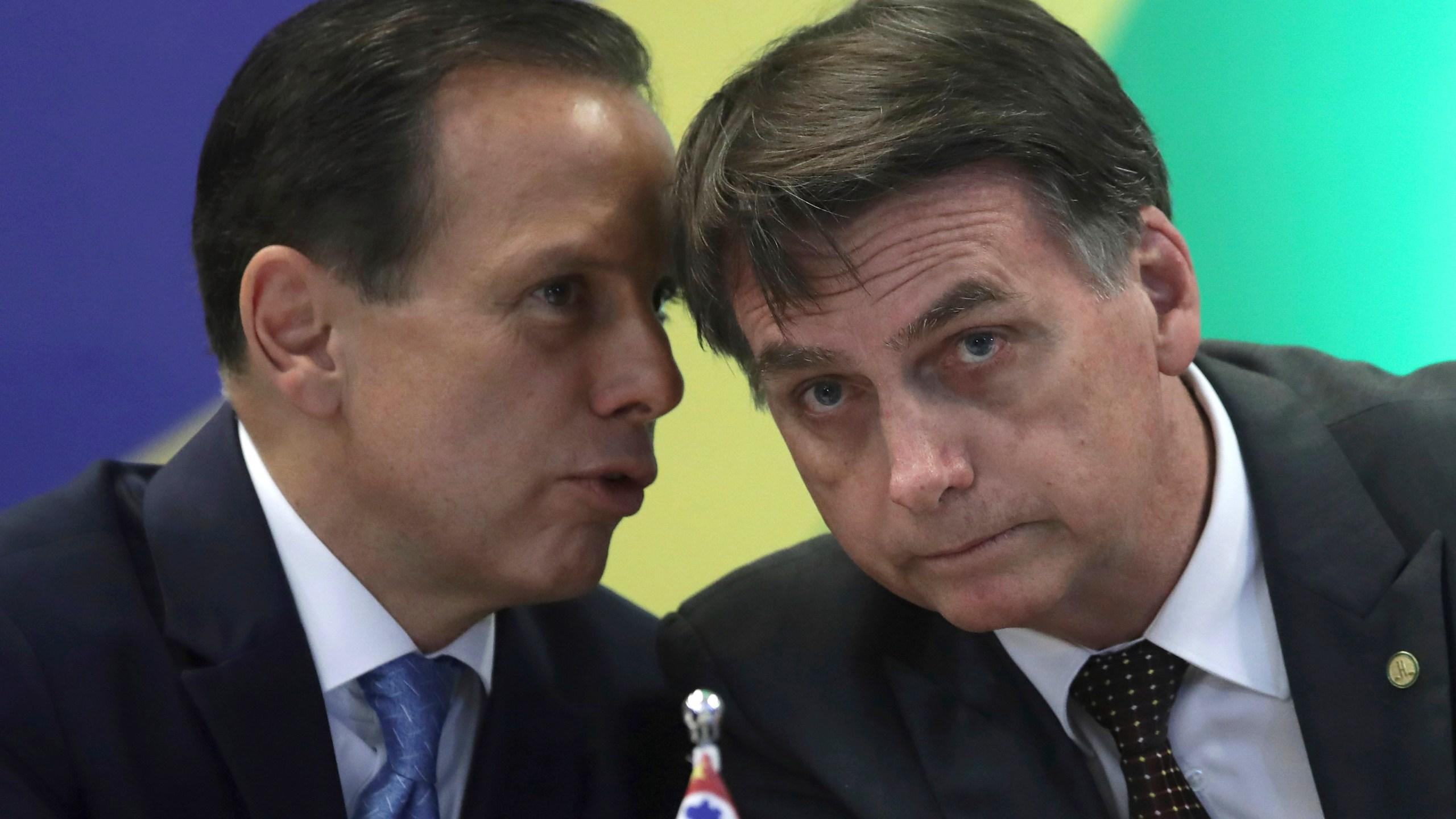 Jair Bolsonaro, Joao Doria