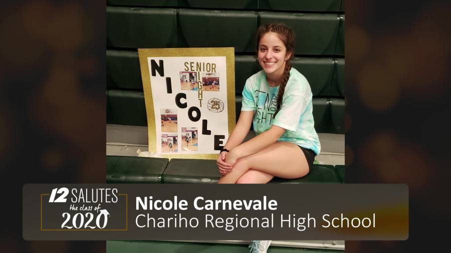 This image has an empty alt attribute; its file name is nicole-senior-chariho.jpg