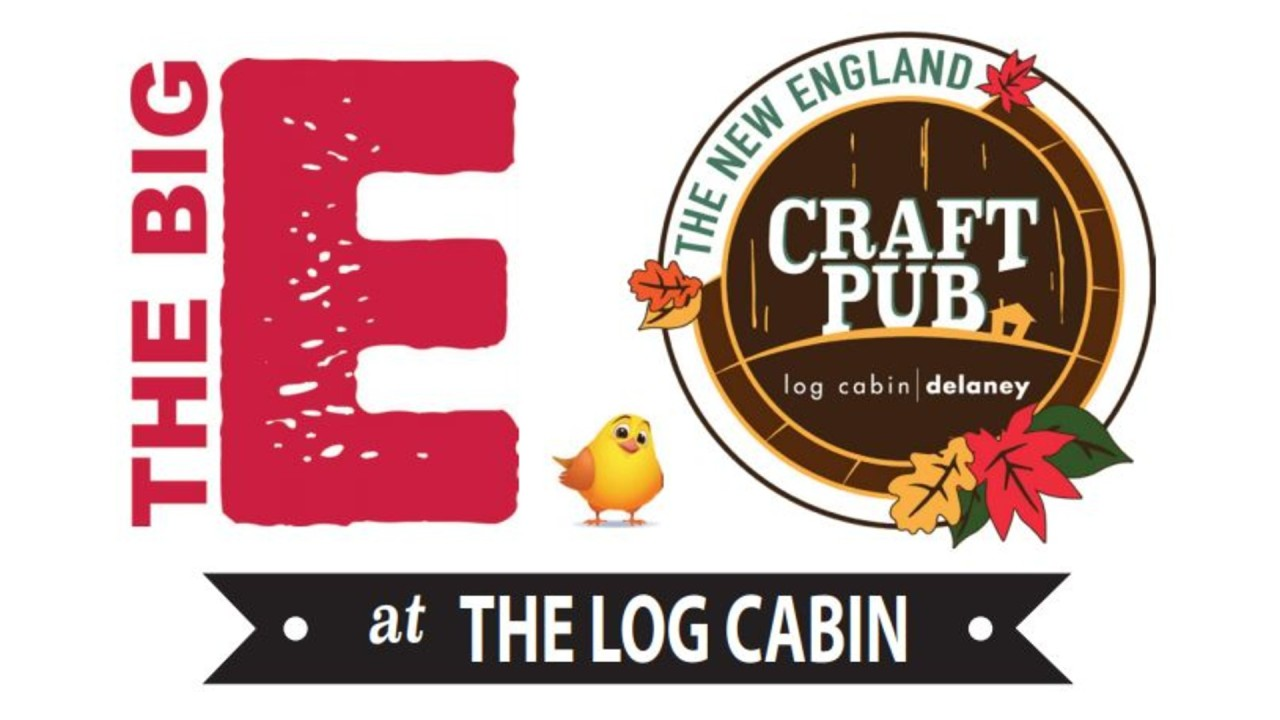The Log Cabin offers local craft beers, Big E fair food