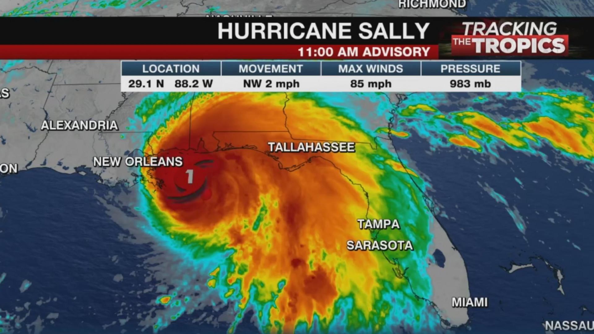 Hurricane Sally Impacts Alabama Florida Coasts Wpri Com