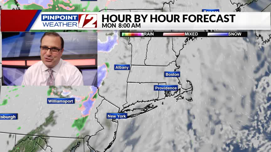Weather Now:  Dry, Milder Start to the Week