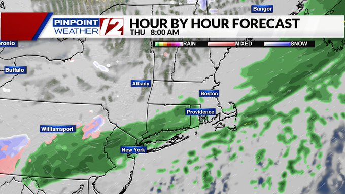 Weather Now Cooler And Breezy Today Rain Late Week Wpri Com