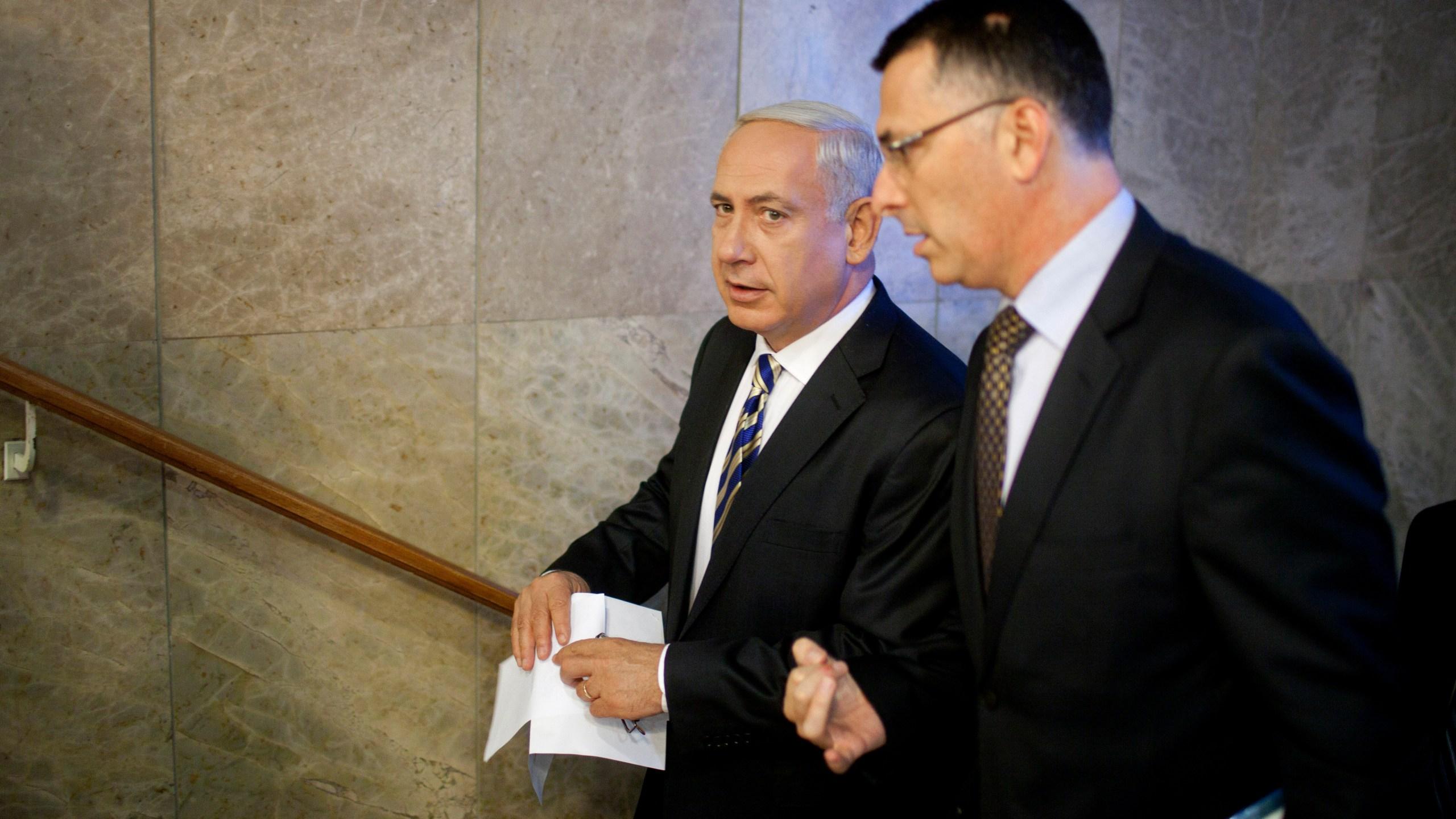 Benjamin Netanyahu, Gideon Saar