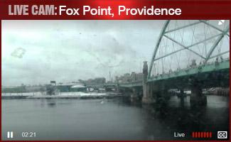 LIVE CAM: Fox Point Hurricane Barrier, Providence
