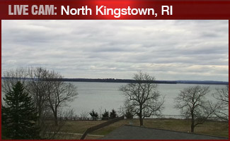 LIVE CAM: North Kingstown overlooking the Narragansett Bay