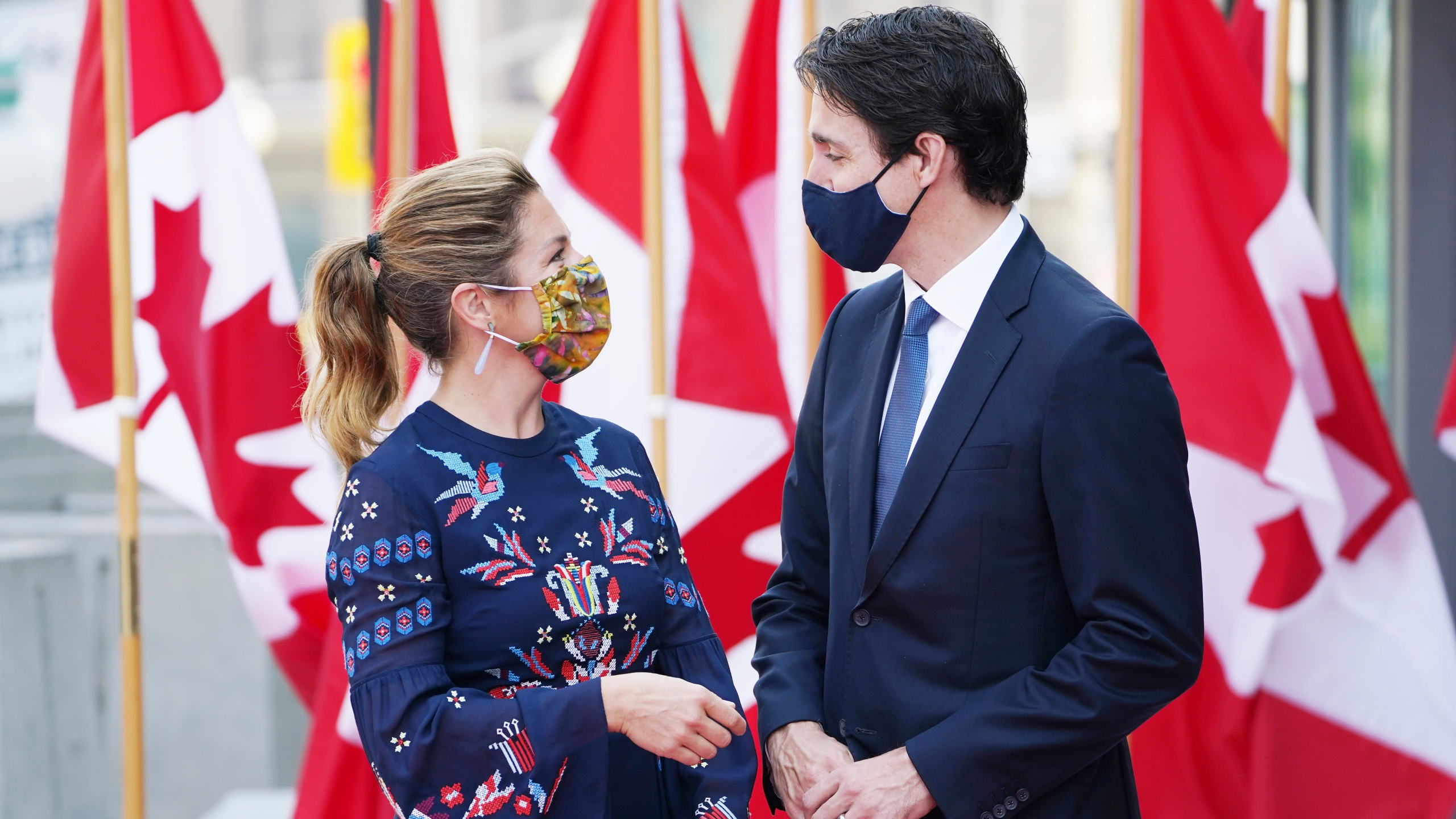 Sophie Gregoire Trudeau, Justin Trudeau