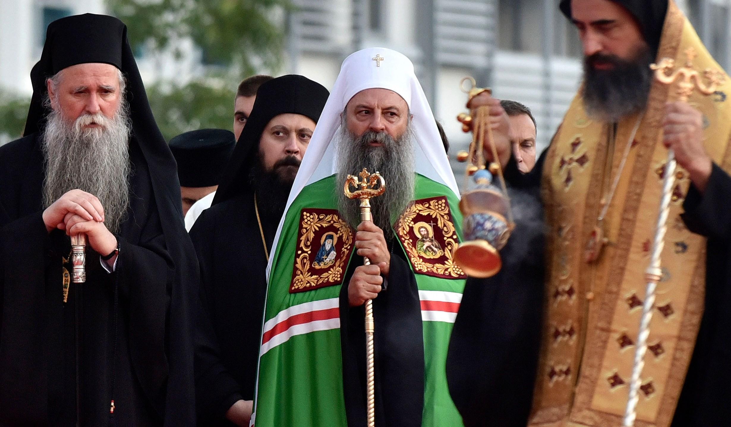 Patriarch Porfirije, Mitropolitan Joanikije